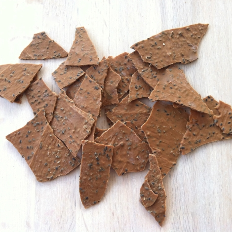 White Chocolate Brittle