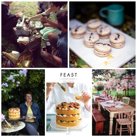 FEAST collage